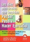 LOS DIEZ OBSTACULOS QUE IMPIDEN PERDER PESO Y HACER EJERCICIO