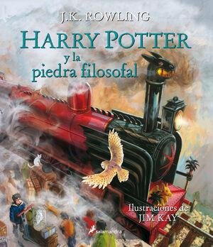 HARRY POTTER Y LA PIEDRA FILOSOFAL (ILUSTRADO 1)