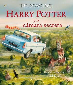 HARRY POTTER Y LA CÁMARA SECRETA (ILUSTRADO 2)