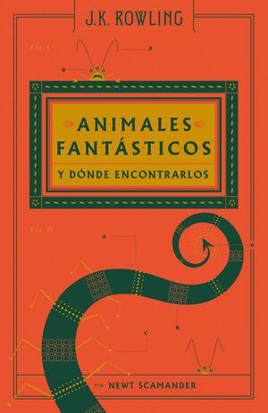 ANIMALES FANTÁSTICOS Y DÓNDE ENCONTRARLOS (BIBLIOTECA HOGWARTS)