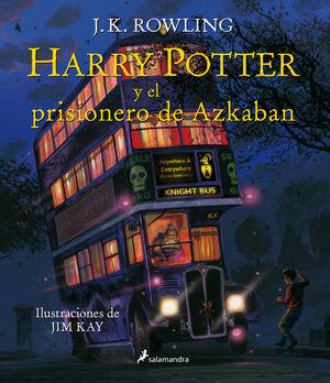 HARRY POTTER Y EL PRISIONERO DE AZKABAN (ILUSTRADO 3)
