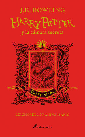HARRY POTTER Y LA CÁMARA SECRETA. GRYFFINDOR