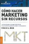COMO HACER MARKETING SIN RECURSO