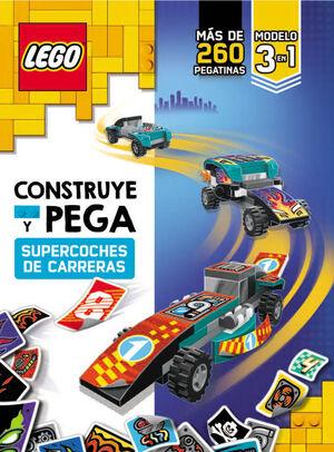 LEGO CONSTRUYE Y PEGA SUPERCOCHES DE CARRERAS